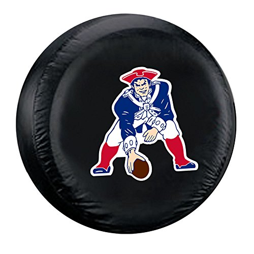 New Case Die - NFL New England Patriots Large Tire Cover, One Size, Black/Blue