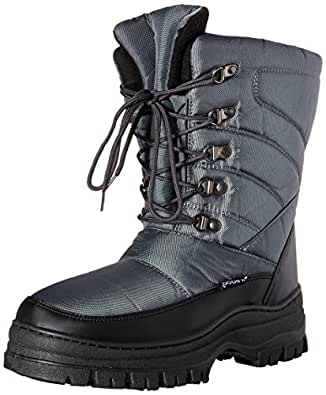 Amazon.com | SkaDoo Mens Winter Snow Boots - Lace-up