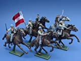 Britains Deetail Confederate General JEB Stuart, Battle of Gettysburg American Civil War 54mm Collectible Toy Soldiers and Playset Figures