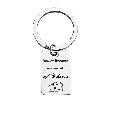Amazon.com: BNQL - Llavero con diseño de canción de dulces ...