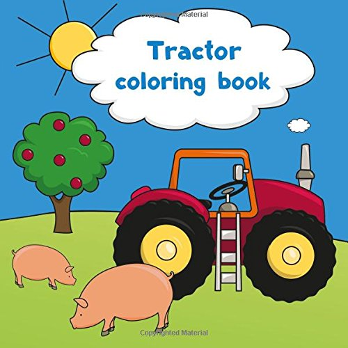 Download Tractor coloring book pdf