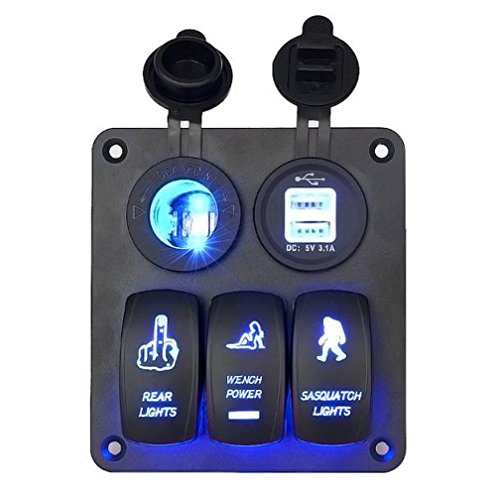 led-switch-han-shi-5-gang-waterproof-car-auto-boat-marine-led-rocker-switch-panel-circuit-breakers