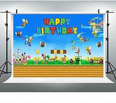 Video Game DSLU233 - Fondo para fotografía de cumpleaños ...