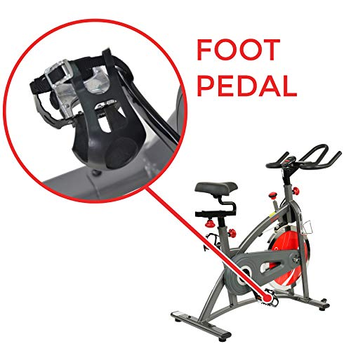 Sunny Health & Fitness Belt Drive Indoor Cycling Bike SF-B1423 by Sunny Health & Fitness (Image #6)