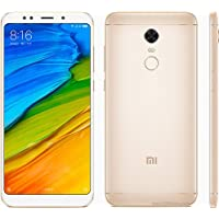 Smartphone Xiaomi Redmi 5 Plus dual Chip Android 7.1 Tela 5.99 64GB Camera 12MP Rom Global - Dourado