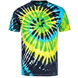 yellow tye dye - Magic River Handcrafted Tie Dye T Shirts - Island Breeze - Kids X-Small