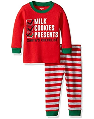 Carter's Santa Checklist PJ Set (Baby)