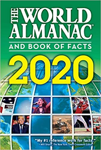 New Books 2020.The World Almanac And Book Of Facts 2020 Sarah Janssen