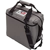 AO Coolers 12 Can Canvas Soft Cooler with High Density Insulation (Multi Colors)