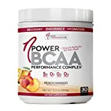 Cheap nPower Nutrition BCAA | All Natural BCAA, Collagen, Electrolyte Powder | 30 Servings | Peach Mango