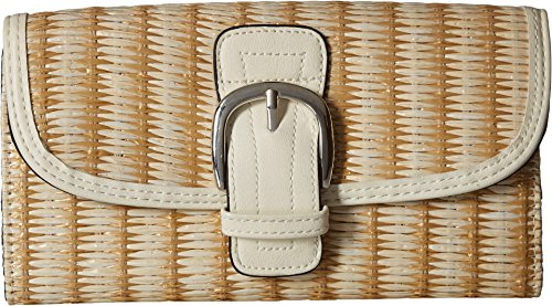 a String on Straw Wallet Sam Natural by Edelman Circus Candace q4FSFw