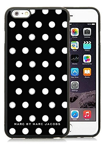 Iphone 6 Plus Cases Custom Design Marc by Marc Jacobs 05 Cell Phone Tpu Cover Case for Iphone 6 Plus 5.5 Inch Black