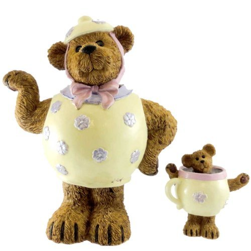 Boyds Bear Country (Enesco Boyds Bear Collection **Mrs. Stout with Lil' Steamy.. The Sweetest Kind of Tea** 4021087)