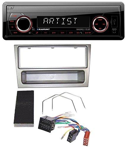 Blaupunkt Madrid 170 BT MP3 USB Aux Bluetooth SD Autoradio fü r Opel Corsa C Meriva Signum Vectra C 2000-2004 Charcoal caraudio24