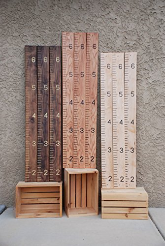 Quality, Solid Hardwood Growth Chart (Walnut, Oak, Maple) by SFW Products (Image #7)