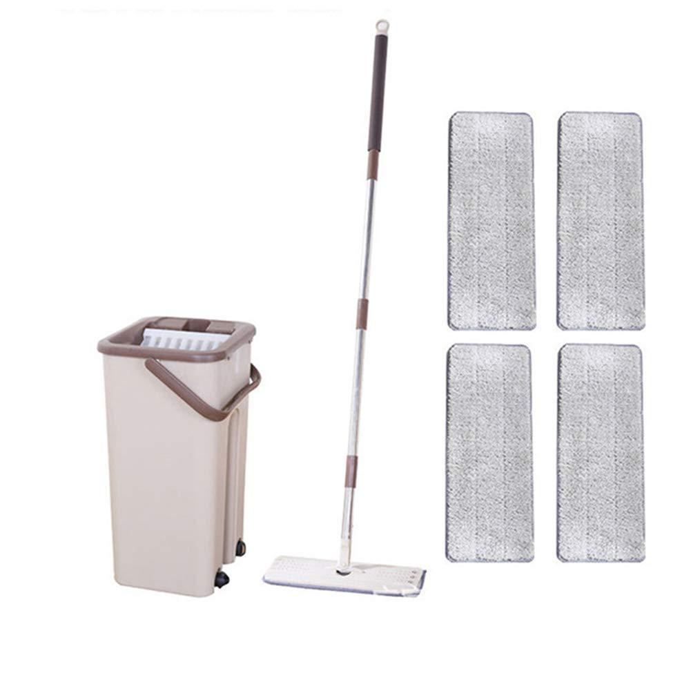 Kit di Pulizia per Pavimenti in Marmo e Piastrelle per Soggiorno e Cucina 1 Pieces of Cloth Rotazione a 360 Gradi Lakote Dust Wizard