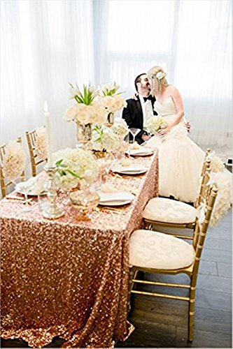 TRLYC 90 132 Tablecloth Sparkly