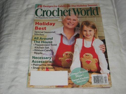 Crochet World December 2009 (Vol. 32, No. 6)