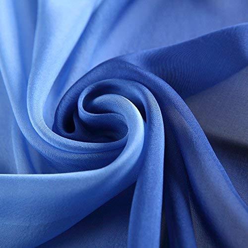 LEIDAI Womens Long Scarf Lightweight Wrap Shawl Silk Scarf (L68.89''xW24.4', 10#)