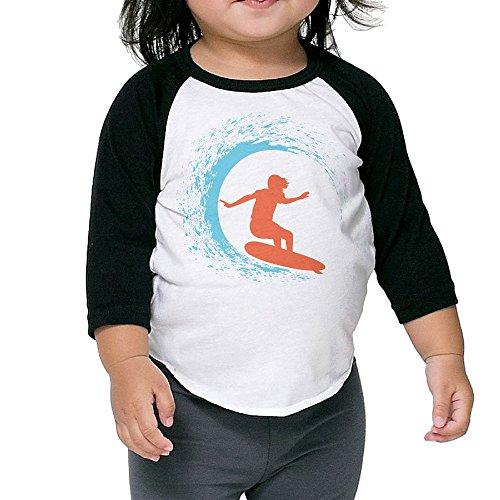 Carina Children's Middle Sleeve Surf Shack Shoulder 3 (Caveman Decorations)