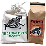 Kopi Luwak Coffee, Wild Gathered, 100% Pure, Whole Bean, 16 Ounces