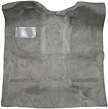 8075-Medium Grey Plush Cut Pile ACC Replacement Carpet Kit for 1994 to 2004 Chevrolet S10 Extended Cab Pickup Truck