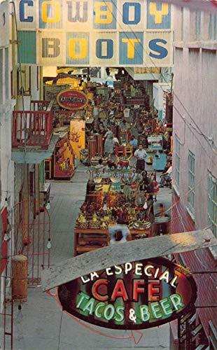 Postcard Tijuana's Pasajes Arcades Curio Shops, Baja California, ()