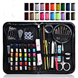 go sewing - Sewing Kit, Over 130 Premium Sewing Supplies, 38 Spools of Thread, Extra 40 Quality Sewing Pins Mini Pocket Travel Sewing Kit for Home, Beginners, Emergency to Mend and Repair