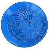 TurboPan 16'' Gold Pan Sluice Panning Gold Prospecting Tools Metal Detector Blue