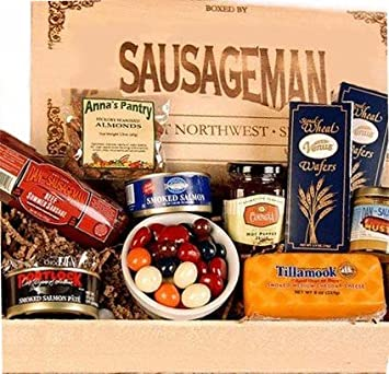 Amazon.com : Gourmet Meat and Cheese Gift Basket : Gourmet ...