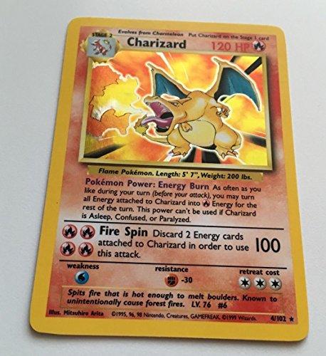 Pokemon - Charizard  - Base Set - Holo Card