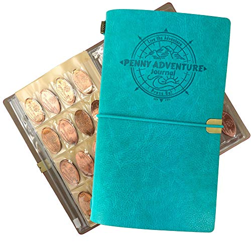 The Penny Journal by Pennybandz Holds 146 Coins The