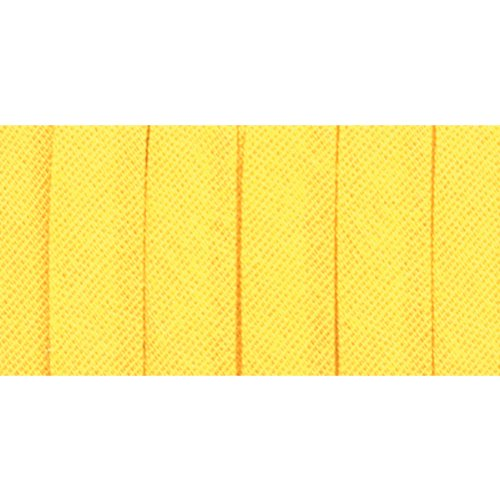 - Wrights 117-201-086 Double Fold Bias Tape, Canary, 4-Yard