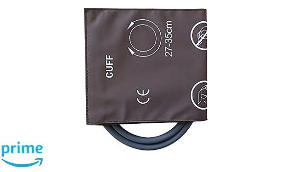 Reutilizable Adulto doble tubo de la presión arterial puños...: Amazon.es: Salud y cuidado personal