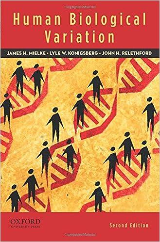 James mielke john relethford lyle human biological variation 2nd.