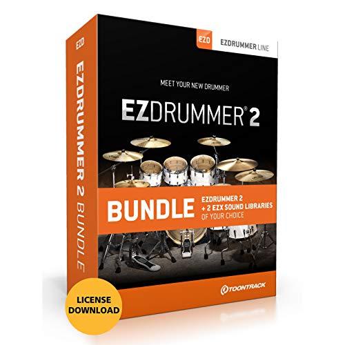 Toontrack EZdrummer 2 Bundle with 2 EZX Libraries