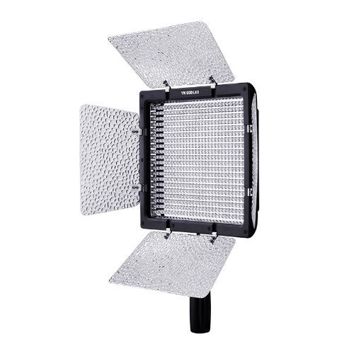 Yongnuo YN-600 600LED Studio Video Light Lamp Color Temperature Adjustable 5500k/ 3200k for Canon Nikon Camcorder DSLR + Power Adapter Remote + Magic Smart Cleaning Cloth