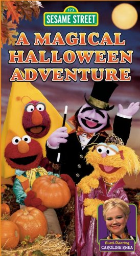 Halloween Adventure.Amazon Com Sesame Street A Magical Halloween Adventure Vhs Jim