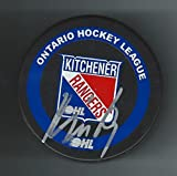 Jakub Kindl Autographed Hockey Puck - Kitchener Rangers Detroit Red Wings - Autographed NHL Pucks