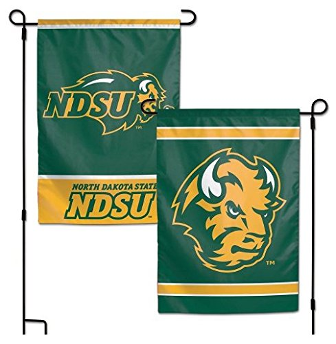 WinCraft NCAA North Dakota State University 12x18 Inch 2-Sided Outdoor Garden Flag Banner