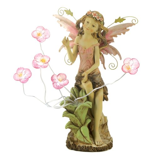 Peony Fairy Solar Statue by Smart Living