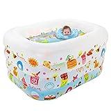 Large pool/cartoon colorful baby pool , white matte
