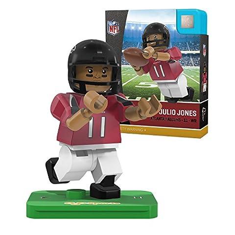 NFL Atlanta Falcons Gen4 Limited Edition Julio Jones Mini Figure, Small, White - Atlanta Falcons Helmet