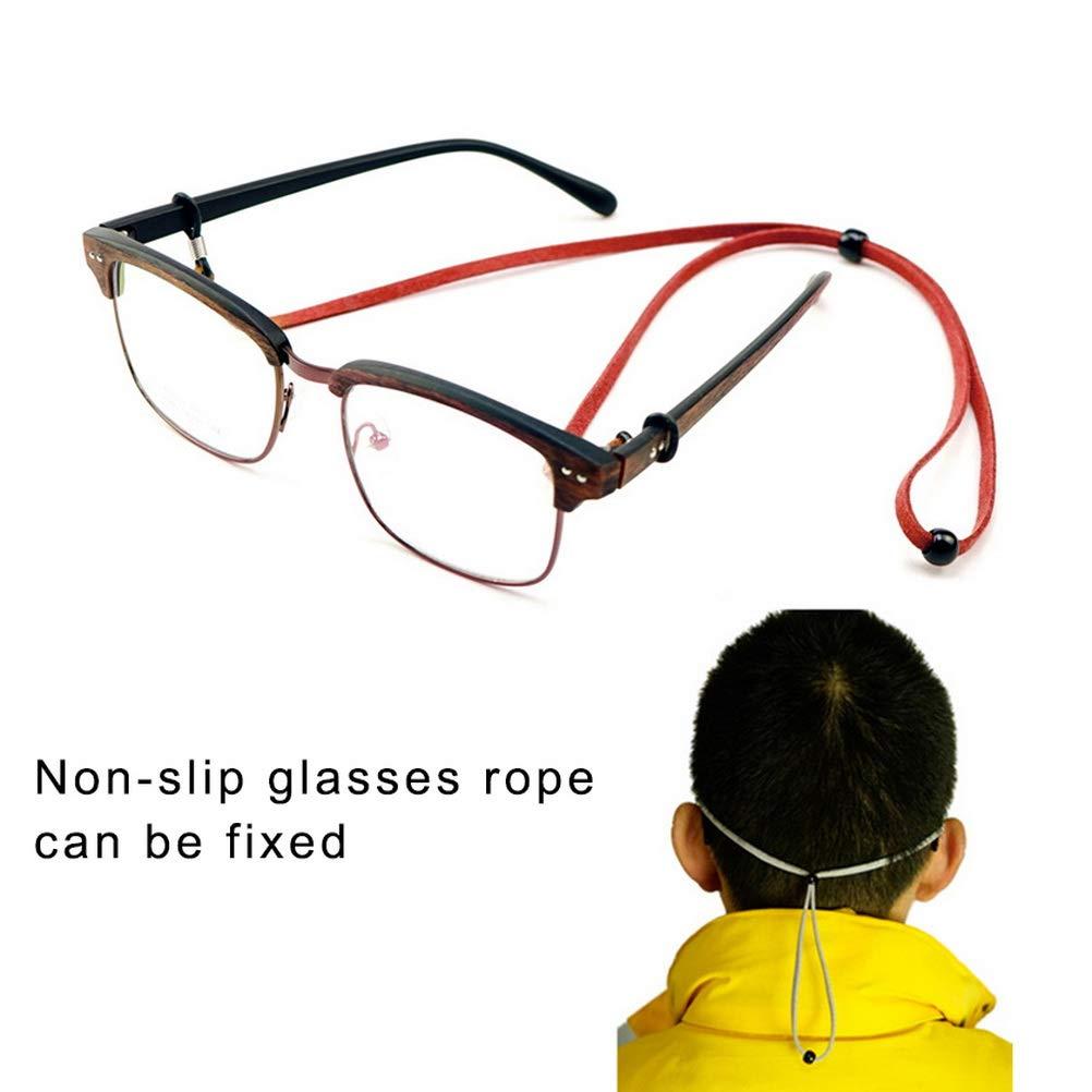 Nuosen 6 St/ücke Brillenkette PU Leder Brillenb/änder