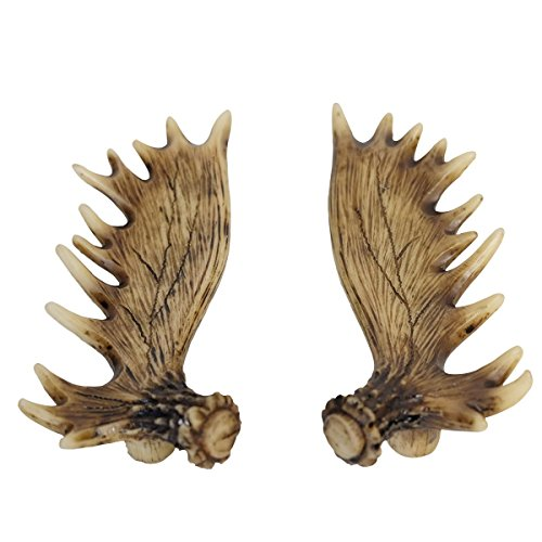 Cabinet Antler Pull - LL Home Moose Antler Cabinet Pull Pair Home Decor, One Size, Brown