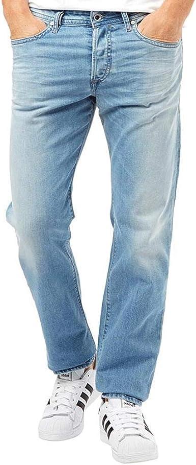 W32 L32 New Mens WRANGLER Straight Jeans Waist 32 Length 32