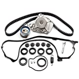 ECCPP Fits Honda Civic DX EX GX LX 1.7 Timing Seal D17A Timing Belt Kit Valve Cover Gasket Water Pump TBK312