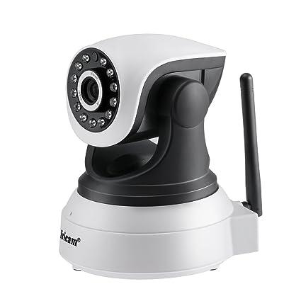 leshp 720P Vigilancia inteligente, inalámbrica Wi-Fi cámara con zweiw egaudio, visión nocturna