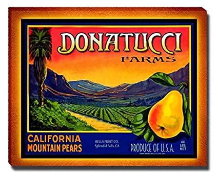 Donatucci Fruit Farm Gallery Wrapped Canvas Print