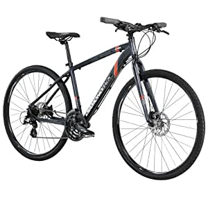 Diamondback Bicycles 2014 Trace Dual Sport Bike (700cm Wheels), 22-Inch, Grey